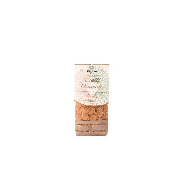 ソル・レオーネビオ オーガニックブロンズダイス・オレッキエッテ・プーリア(サラゴッラ小麦) 500g 12個セット