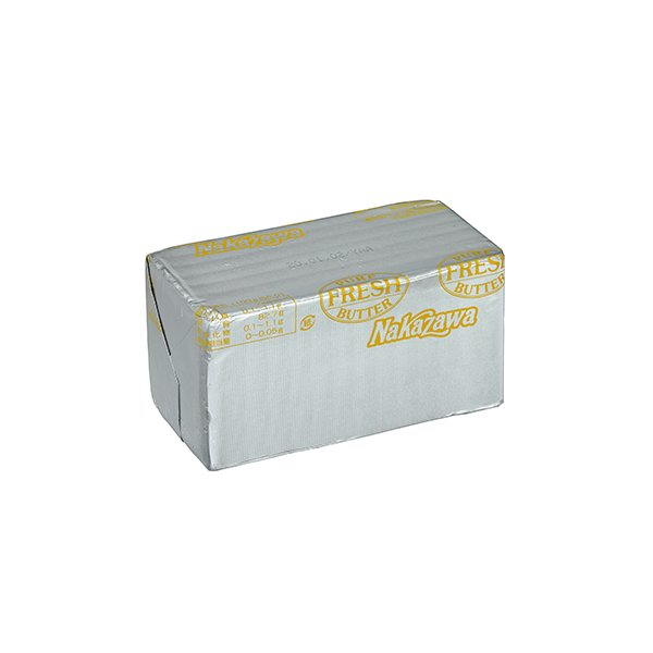 バター 無塩バター 中沢フレッシュバター(食塩不使用)450g  冷蔵