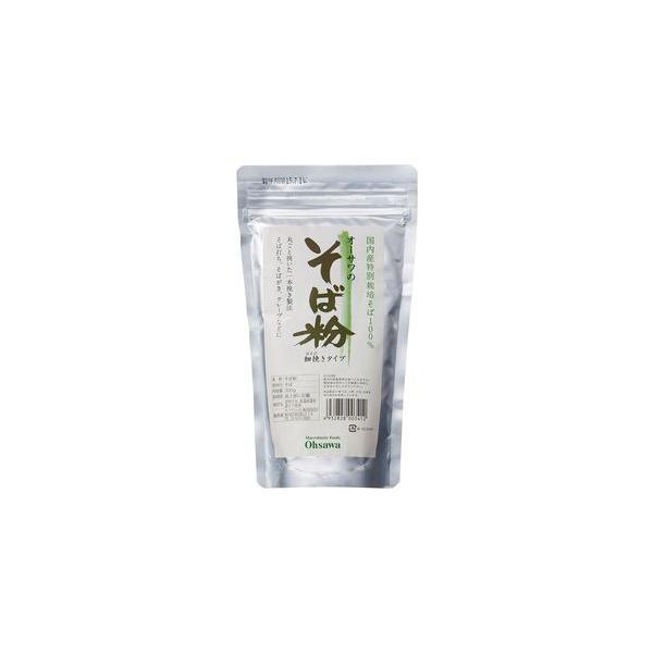 オーサワのそば粉(細挽き)300g