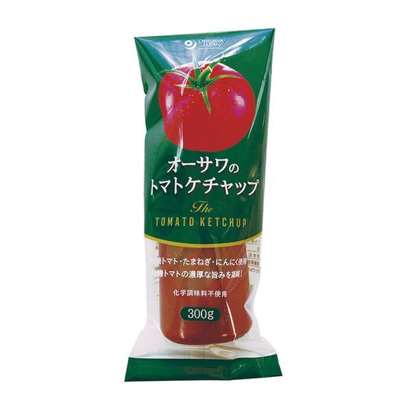 送料無料 オーサワのトマトケチャップ(チューブ入り) 300g x2セット