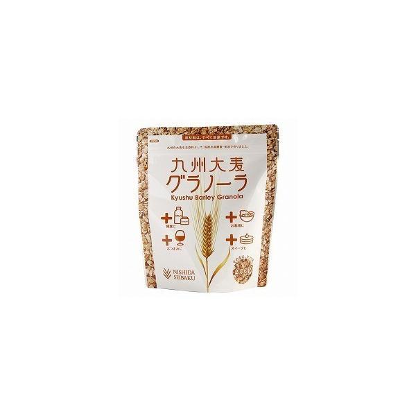 送料無料 創健社 西田精麦 九州大麦グラノーラ プレーン 200g x2セット