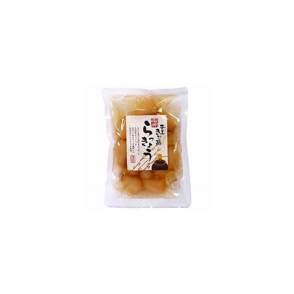 【送料無料(メール便)】創健社 奄美自然食本舗ファクトリー 奄美きび酢らっきょう 90g