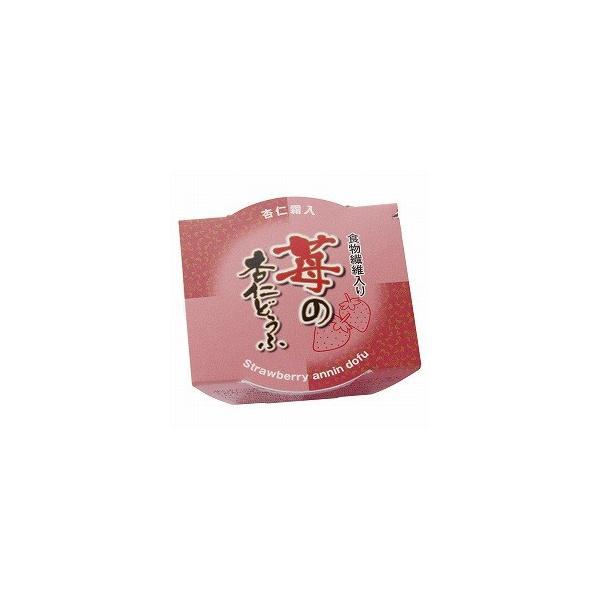 創健社 マルヤス食品 苺の杏仁どうふ 105g