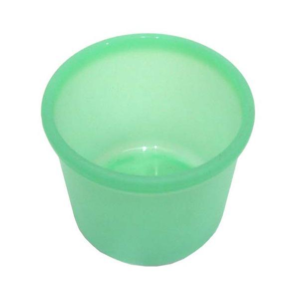 【ハイドロカルチャー】ミニ観葉植物用 プラ鉢(グリーン)