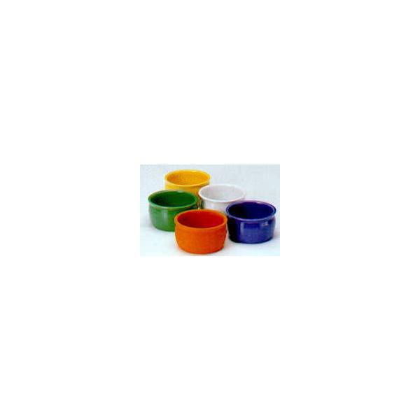 【ハイドロカルチャー】3品種寄せ植え用 陶器鉢(ホワイト)