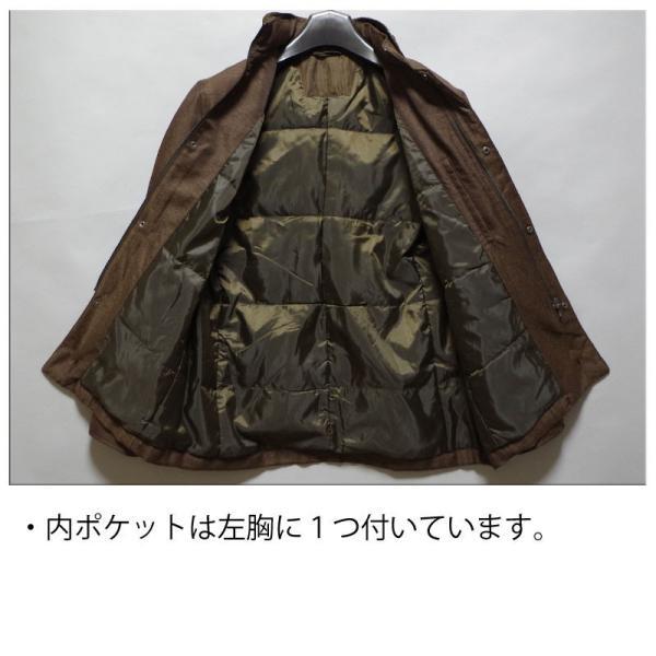 【送料無料】スタンドカラー ショートコート メンズ ビジネスコート M/L/LLサイズ|bloomstore|05