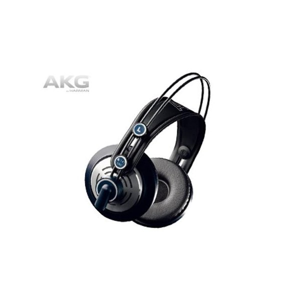 AKG プロフェッショナルスタジオモニター・セミオープンヘッドホンの画像