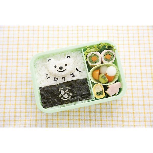 のりパンチ お弁当グッズ フェース ベーシック 000FG5187 貝印 デコ弁|blossomshop43|05