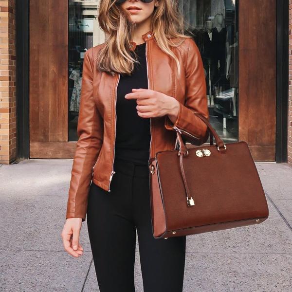 MMKコレクションファッション女性の財布とハンドバッグレディースデザイナーサッチェルハンドバッグトートバッグショルダーバッグ(小銭入れあり)