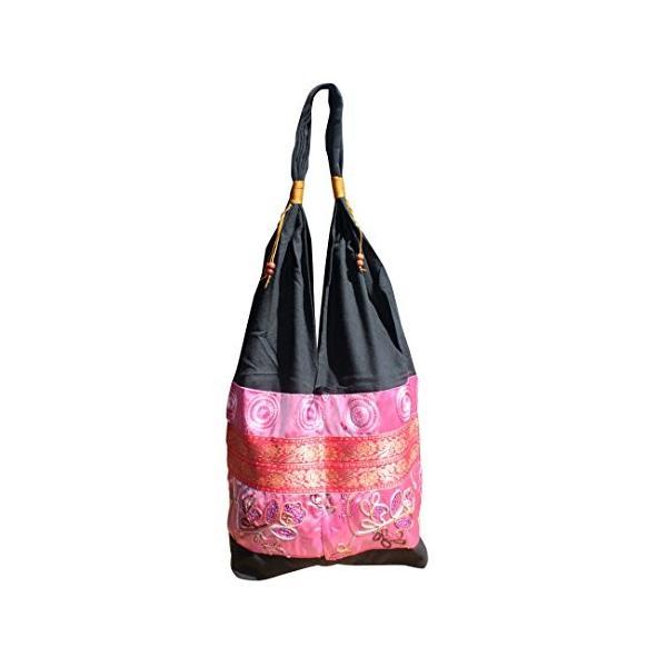 完全なファンクのブランドの絹のSquiggleラインは女性ショルダーバッグ、ピンクの上に投げます