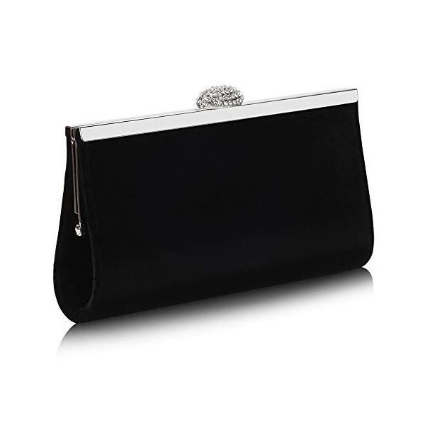 Marswoodsen女性クラシックエンベロープベルベットイブニングバッグウェディングクラッチバッグ財布ハンドバッグ