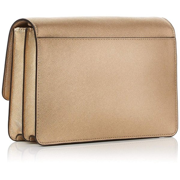 Michael Kors Womens Gusset Lg Gusset Crossbody Cross-Body Bag Gold (Pa