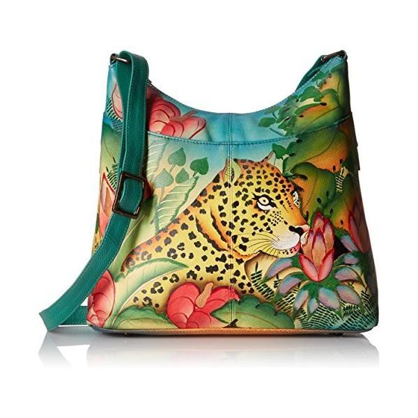 Anna by Anuschka Women's Genuine Leather Large Hobo Handbag | Hand Pai