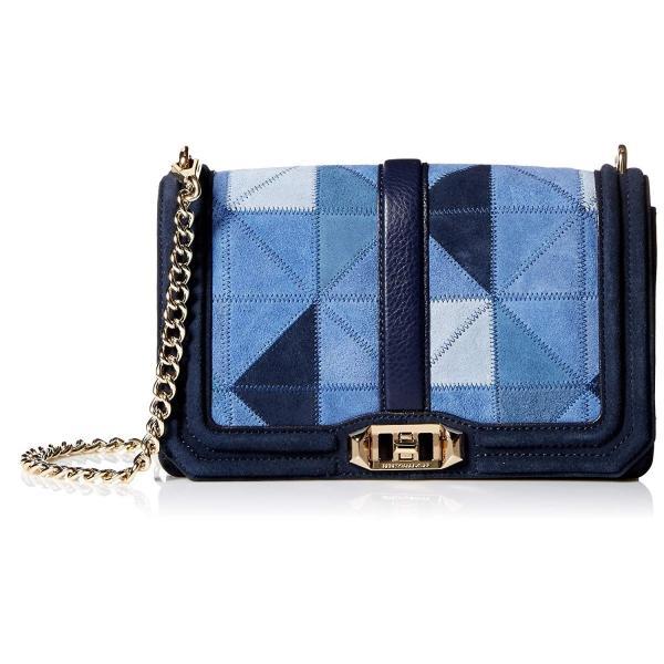 Rebecca Minkoff Love Crossbody, Blue/Multi
