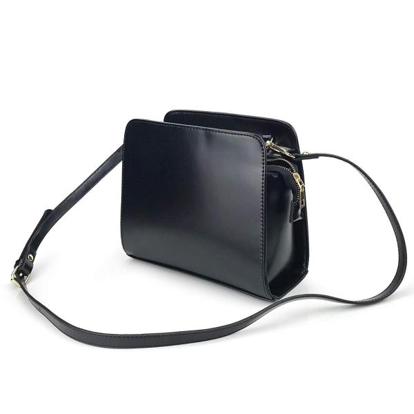Minimalist Small Satchel Women Cross Body Bag (Burgundy)