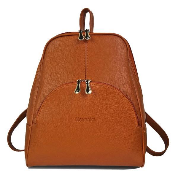 Nevenka Brand Women Bags Backpack Purse PU Leather Zipper Bags Casual