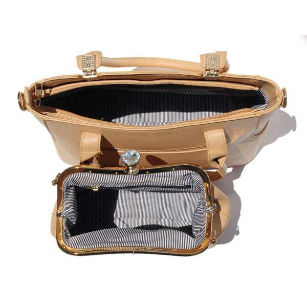 Women's Crossbody Satchel 3 Piece Set Matching Bag, Purse, Wallet and