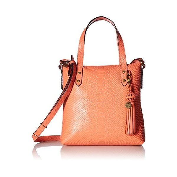 The Sak The Collective Sophie Crossbody Satchel Cross Body, warm coral