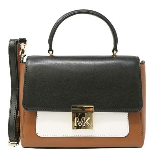 MICHAEL Michael Kors MINDY Medium Leather Convertible Top Handle Satch