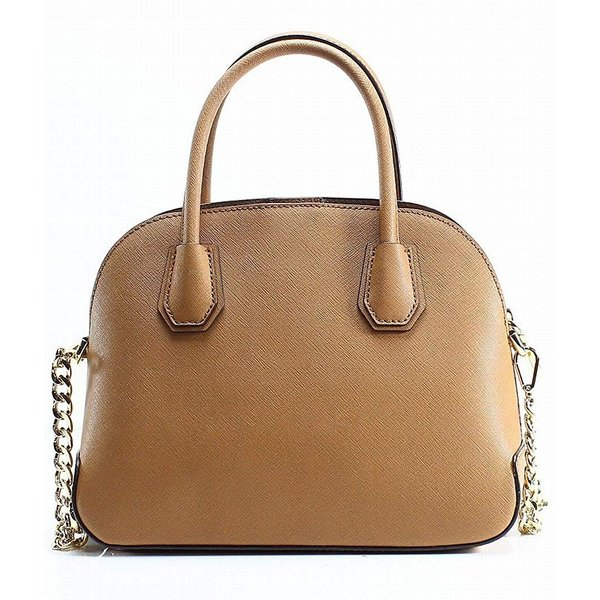 Michael Kors Medium Dome Satchel, Brown