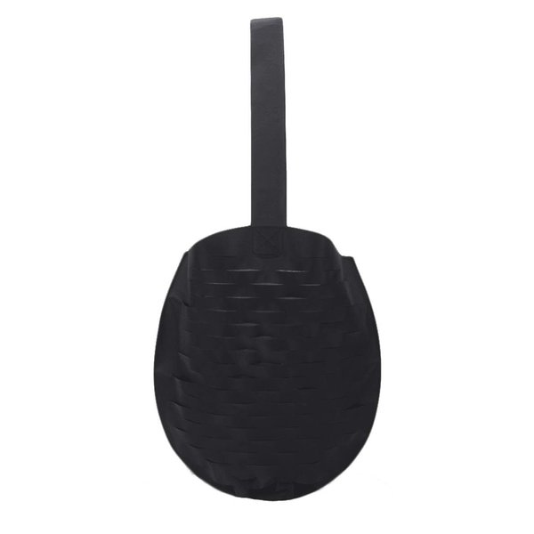 Hurley HU0038 Women's Slash Mesh Shoulder Bag, Black - OS