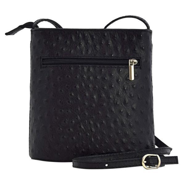 Lara Bags Cross-Body Handbags Shoulder Bags Women's Genuine Leather Bl