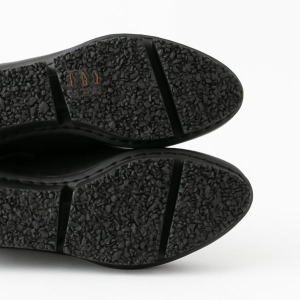 トリッペン ブーツ ショートブーツ ブーティ ウェッジソール レザー 牛革 ブラック 黒 ドイツ製 trippen Swift