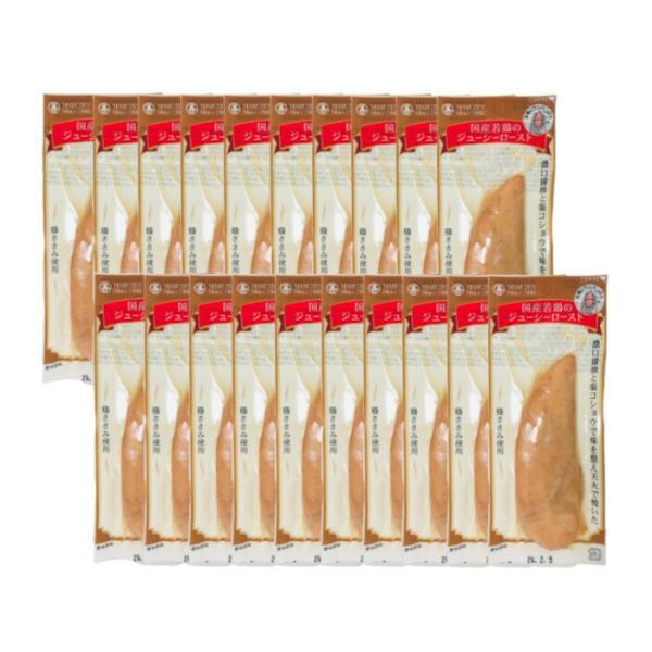 丸善 国産若鶏のジューシーロースト プレーン 20本セット tg_tsw_7