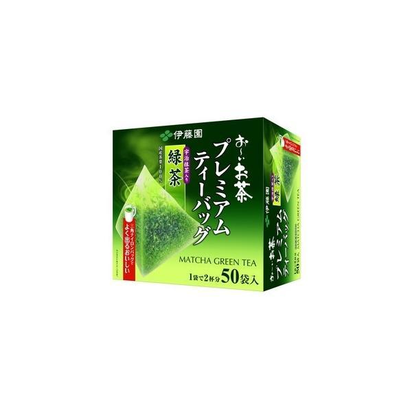 伊藤園 プレミアムティーバッグ 抹茶入り緑茶 50袋入 ( 日本茶 / ティーバッグ ) ※キャンセル不可商品 bluechips