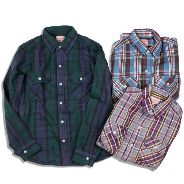 BIG MIKE ヘビーフランネルワークシャツ