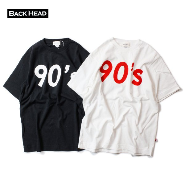 BACK HEAD バックヘッド 90's STAMP POCKET TEE