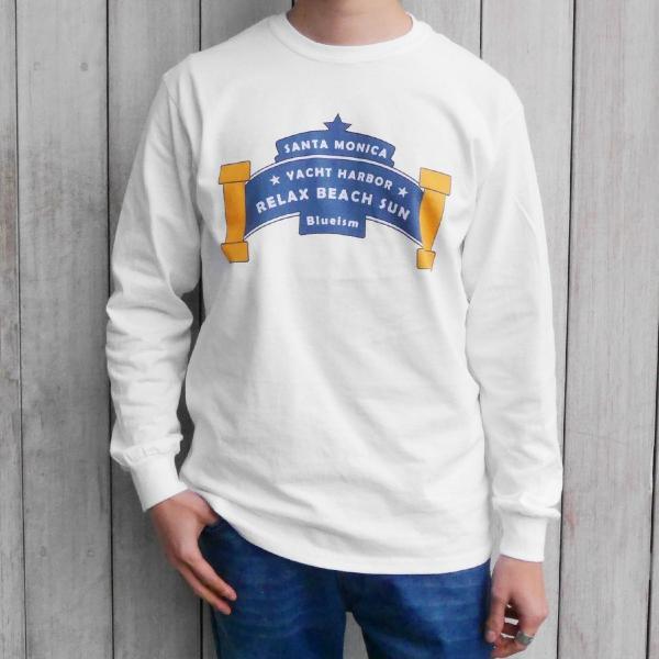Blueism ブルーイズム Yachtharbor Long Tee Shirt