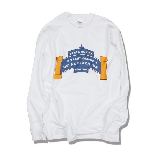 アウトレット Blueism ブルーイズム Yachtharbor Long Tee Shirt