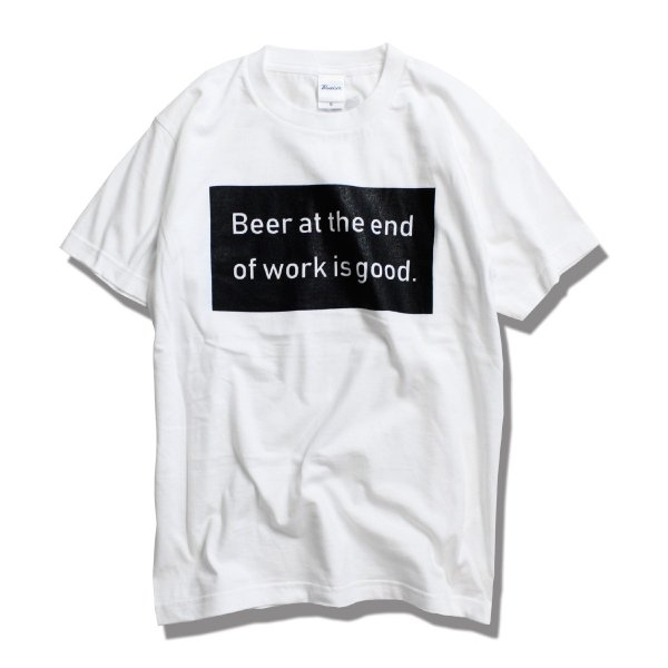 Blueism ブルーイズム Beer Box Message T-shirt