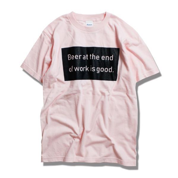 Tシャツ メンズ 半袖 ブランド おしゃれ レディース ボックスロゴ ビール メッセージ ロゴ Blueism|blueism-y|08