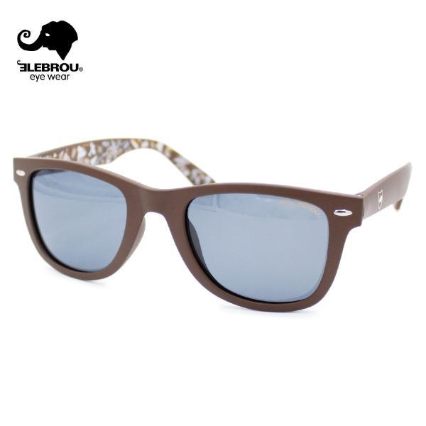 ELEBROU eyewear エレブロ RT Brown Smoke