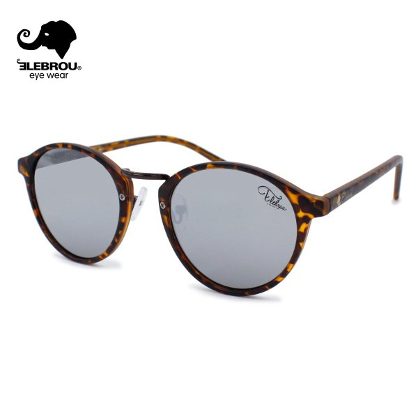 ELEBROU eyewear エレブロ Reflet Brown mirror