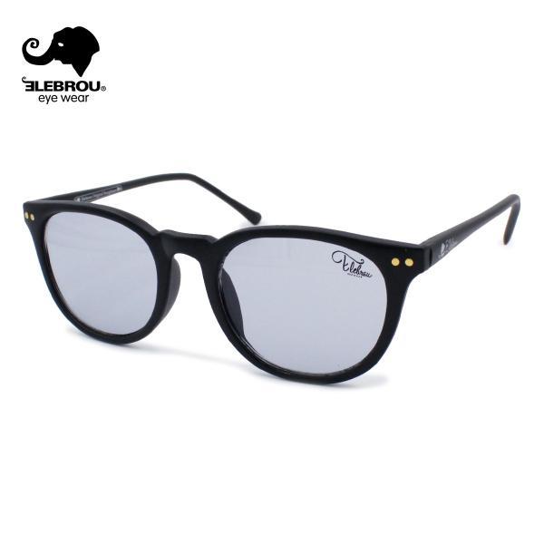 ELEBROU eyewear エレブロ Issac Smoke