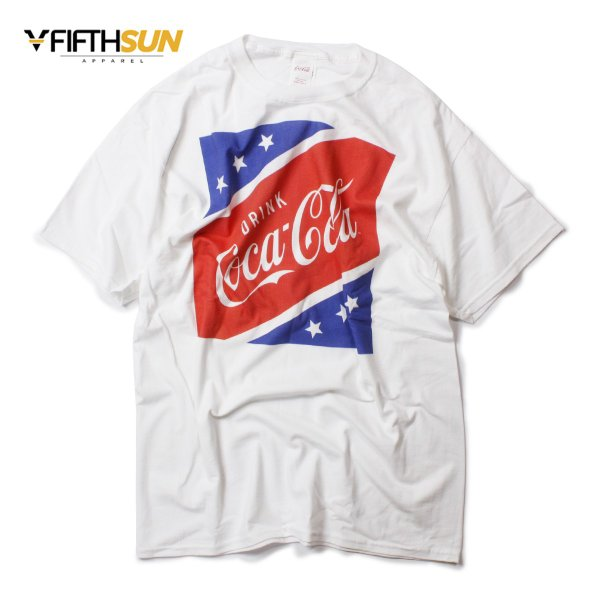 FIFTH SUN フィフスサン COCA COLA USA SQUARE TEE