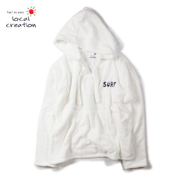 feel so easy local creation TOWEL PARKA
