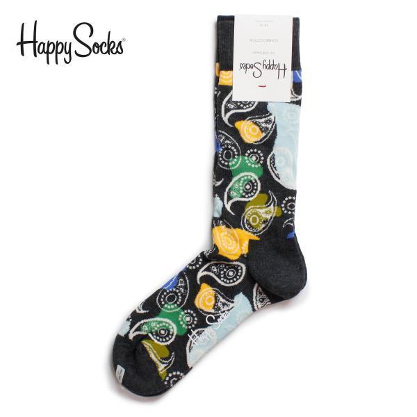 Happy Socks ハッピーソックス ペイズリー柄ソックス