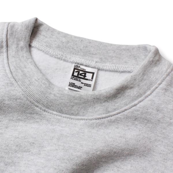 トレーナー メンズ ブランド おしゃれ 無地 裏起毛 30代 40代 スウェットトレーナー スウェット USA シンプル アメカジ グレー ネイビー|blueism-y|08