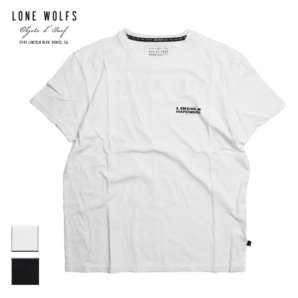 LONE WOLFS Objets d'Surf ローンウルフズ プリントTシャツ