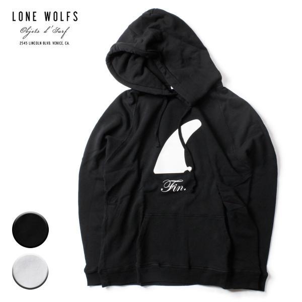 LONE WOLFS ローンウルフズ FINプリントHOOD