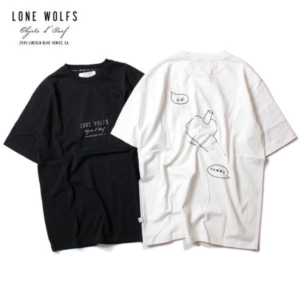 LONE WOLFS ローンウルフズ SHOP POKET TEE