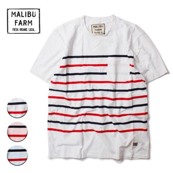 MALIBU FARM マリブファーム BORDER TEE