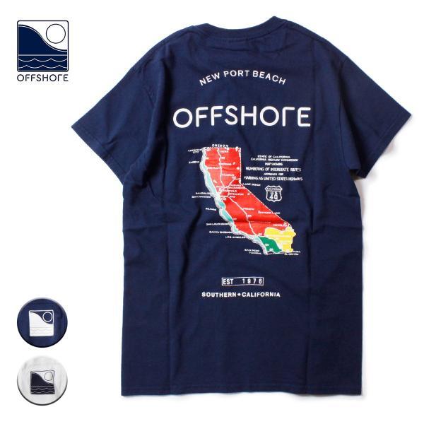 OFFSHORE オフショア MAP S/S TEE