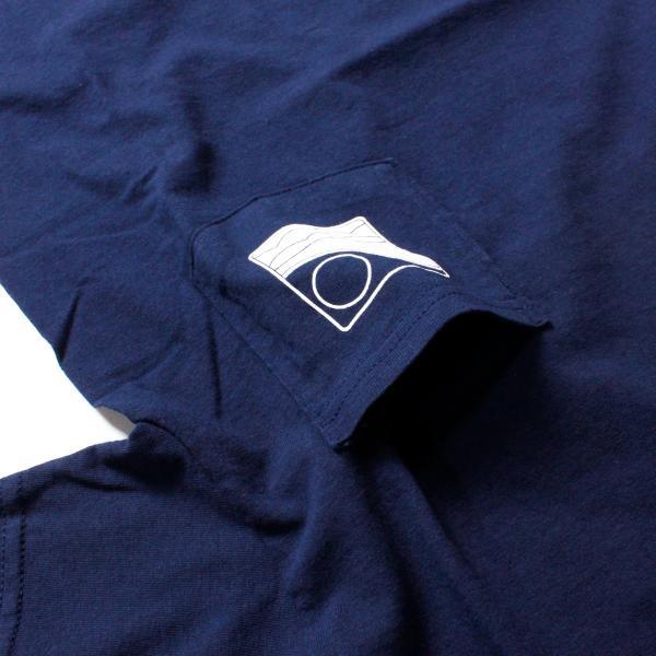 Tシャツ メンズ ブランド 半袖 おしゃれ レディース オフショア ポケット ポケT ロゴ マップ 地図柄 地図 バックプリント サーフ|blueism-y|08