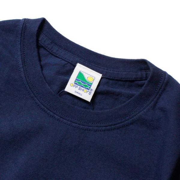 Tシャツ メンズ ブランド 半袖 おしゃれ レディース オフショア ポケット ポケT ロゴ マップ 地図柄 地図 バックプリント サーフ|blueism-y|10