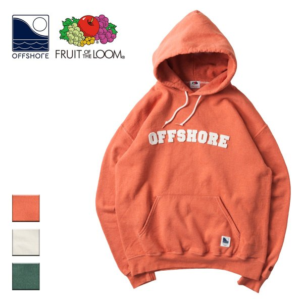 OFFSHORE オフショア X FRUIT OF THE LOOM PARKA